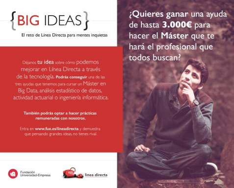 Concurso Big Ideas de Linea Directa